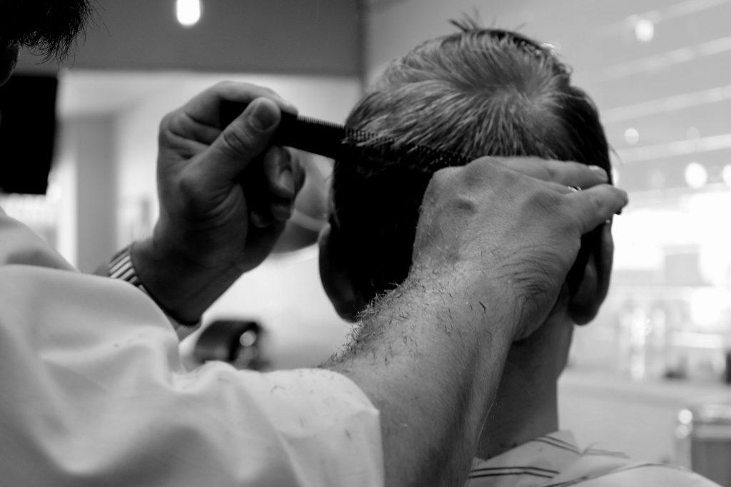 coupe cheveux dégradé progressif